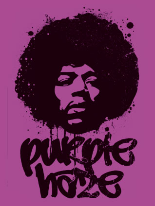 Purple Haze intro - Jimi Hendrix (slowed down)