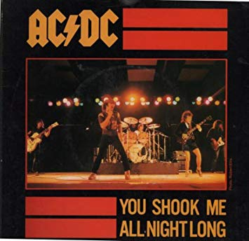 AC/DC - You Shook Me All Night Long (Solo)