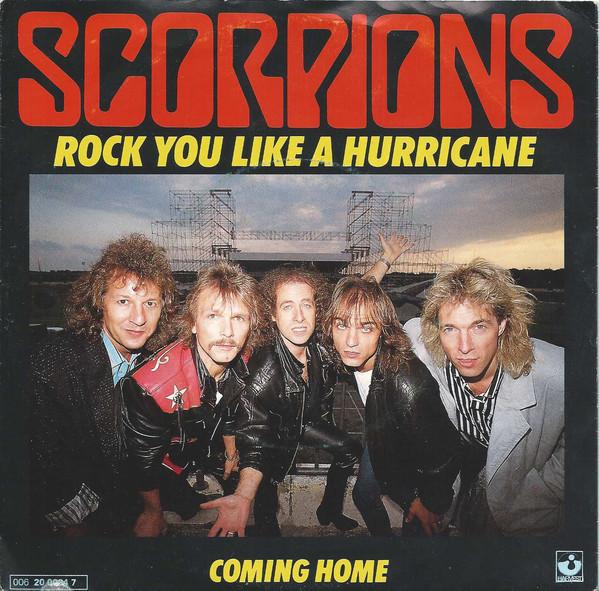 The Scorpions - Rock You Like A Hurricane