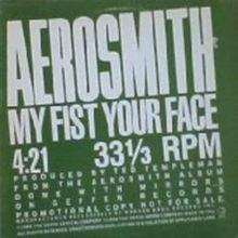 Aerosmith - My Fist Your Face